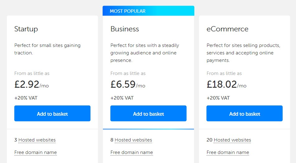 Best website hosting in the UK - tsoHost
