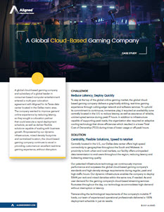 Cloud-Based Gaming Company Case Study 4