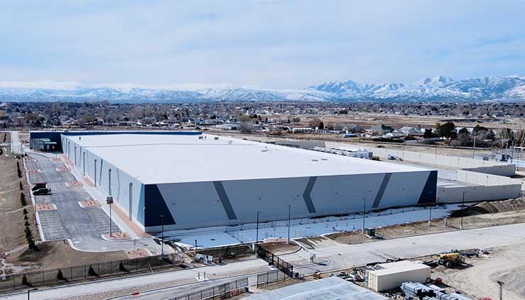 he new Aligned SLC02 data center in scenic West Jordan, Utah. (Photo: Aligned)