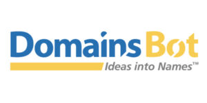 DomainsBot: Domain search behavior in relationship to the availability of .com