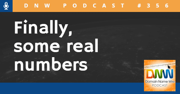 Actual domain investor results – DNW Podcast #356
